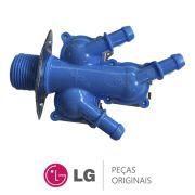 Válvula de Entrada de Água Tripla 110V 5220FR2009H Lava e Seca LG WD-1403RD, WD-1409RD, WD1485AT