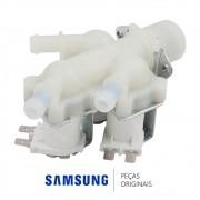 Válvula de Entrada de Água Tripla 110v para Lavadora e Secadora Samsung Diversos Modelos