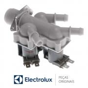 Válvula de Entrada de Água Tripla 127V 60HZ 95MA 15415070 Lava e Seca Electrolux LSE09 LSE12 LSI09