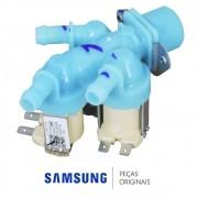 Válvula Entrada de Água Tripla 220V DC62-00233B Lavadora Secadora Samsung WD0854W8NF1 WD136UVHJWD
