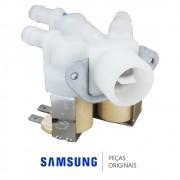 Válvula de Entrada de Água Tripla 220V Lavadora e Secadora Samsung WD-Q1456V WD8854RJFF WD8854RJFF1