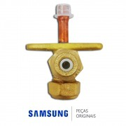 Válvula de Serviço 1/4 para Ar Condicionado Samsung Diversos Modelos