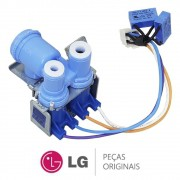 Válvula Entrada de Água RIV-12A-15B 110V 5220JA2008L Refrigerador LG GC-L207BVQV, LR-21SPT, LR-21SPW