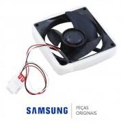 Ventilador 12V / 0.16A / 1.92W do Freezer para Refrigerador Samsung RF263BEAESL, RT35, RT38