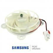 Ventilador ARES2120RA 12V do Freezer para Refrigerador Samsung RF220NCTASL, RL220NCTASL, RT46H5601SL