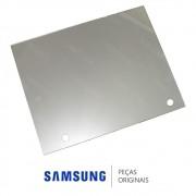 Vidro de Acabamento Superior Espelhado da Porta do Freezer Refrigerador Samsung RS21HKLMR, RSH1KLMR