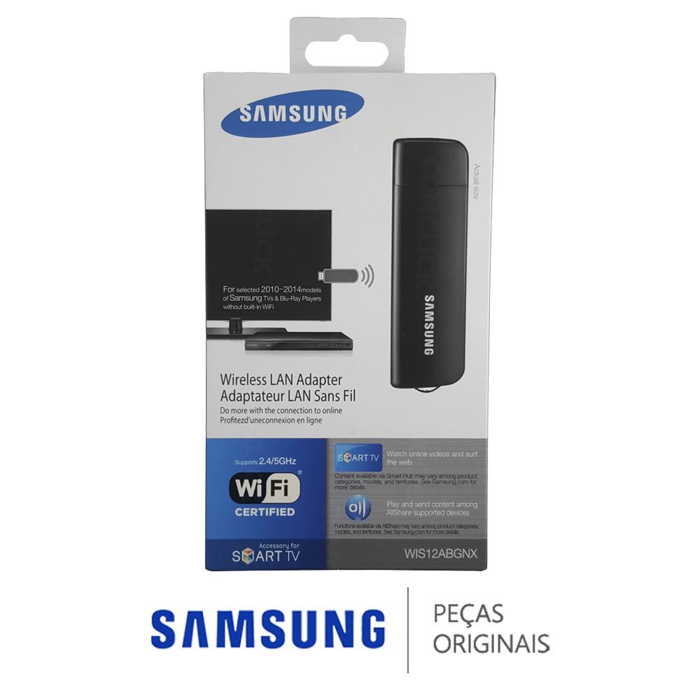 Adaptador Wireless WIS12ABGNX para SMART TV, Blu-Ray e Home Theater Samsung 2012 Diversos Modelos