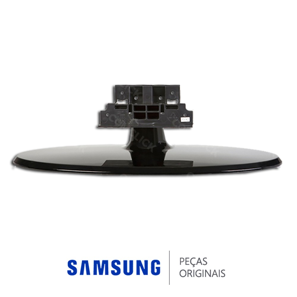 Base Completa Preta Oval para TV Samsung LN22B450C4, LN26A450C1, LN26B450C4H, LN26B450C4M