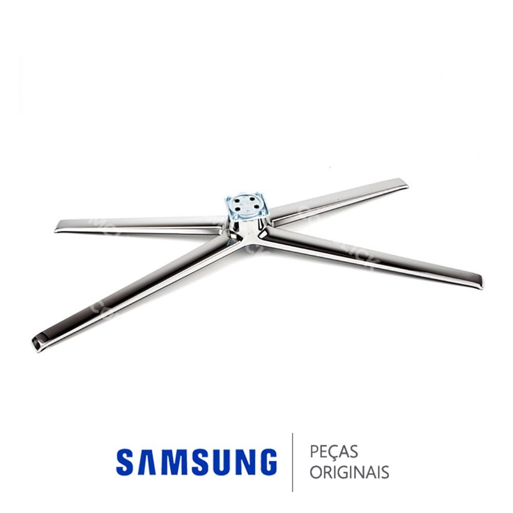Base Inferior Cromada para TV Samsung UN46C6900VM, UN46C7000WM, UN46C8000XM, UN55C6900VM UN55C8000XM
