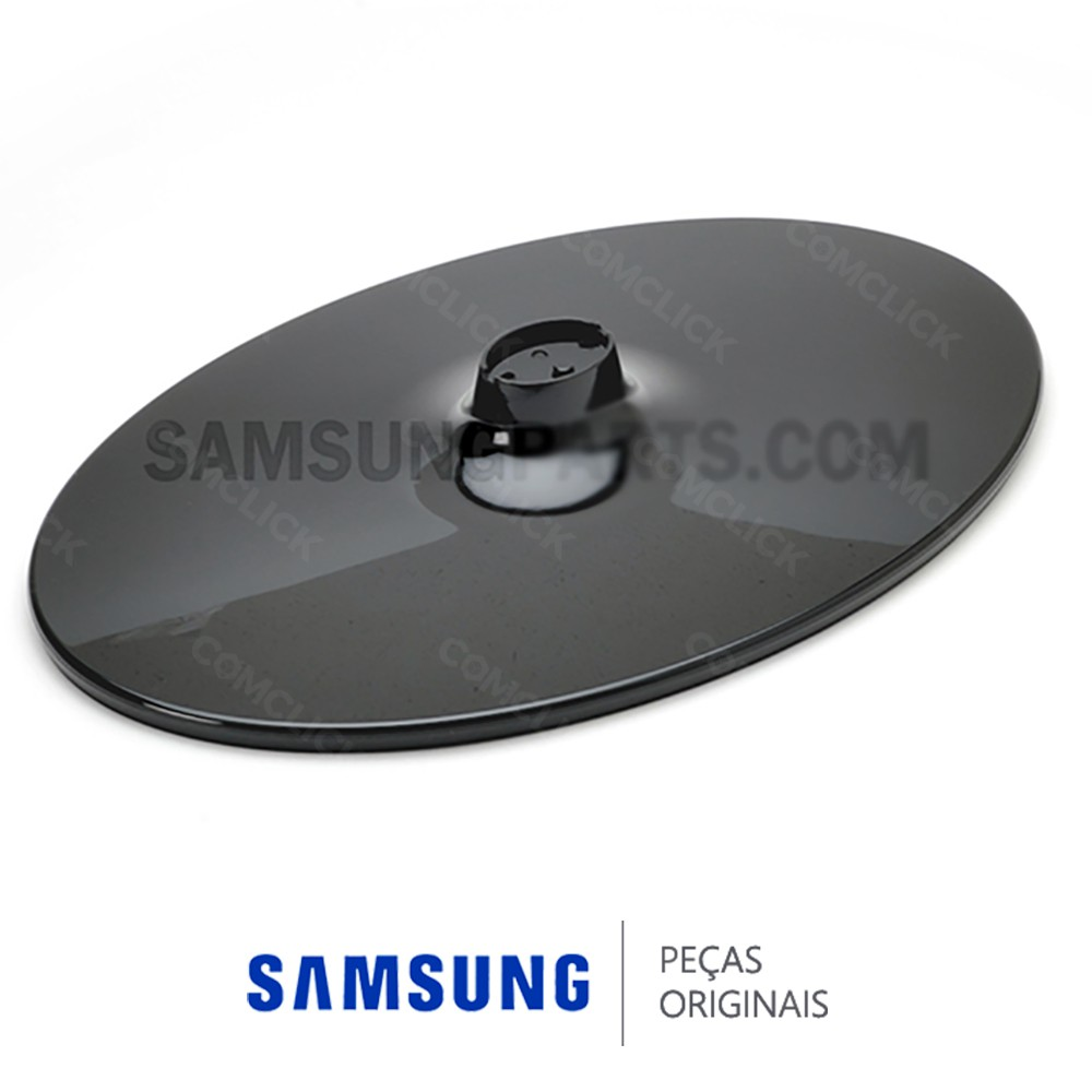 Base Inferior Oval Preta para TV Samsung LN22B350F2