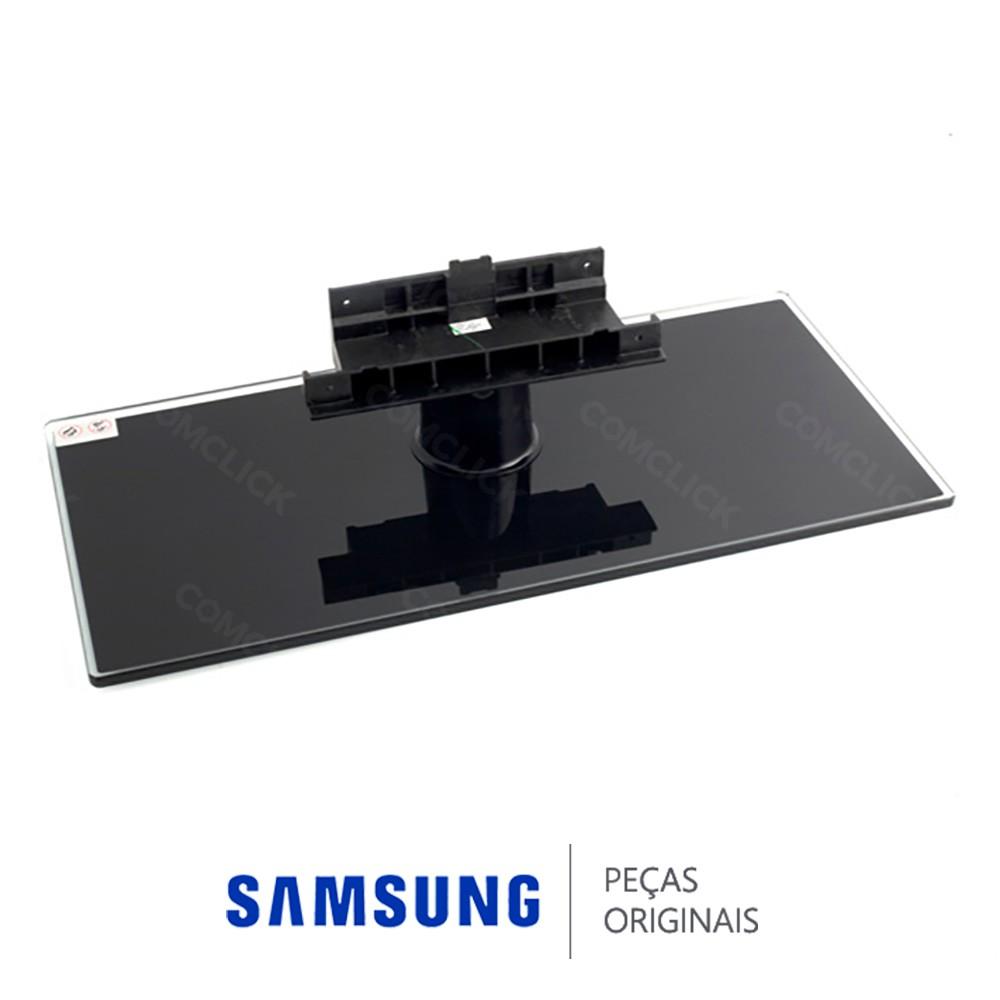 Base Retangular em Vidro Temperado com Pino Superior para TV Samsung LN40B550K1