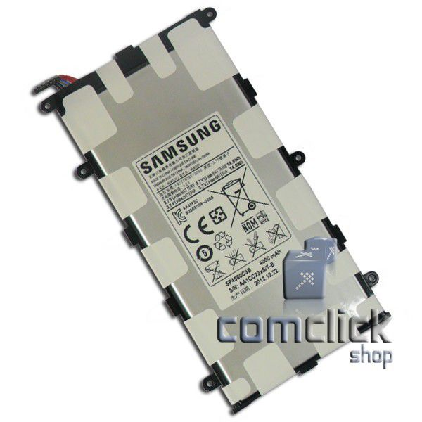 Bateria Interna SP4960C3B 4000 MAH 3,7V 14,8 Wh para Tablet Samsung Diversos Modelos