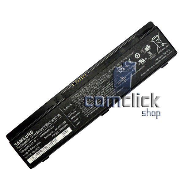 Bateria P23R05-01-H03 AA-PB0VC6B 7,4V 48WH 6600mAh Preta para Netbook Samsung NP-NF110