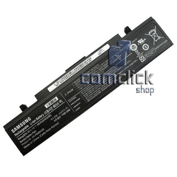 Bateria P32R05-54-H03 AA-PB9MC6B 11.1V 48WH 4400mAh para Notebook Samsung NP500P4C, NP550P5C