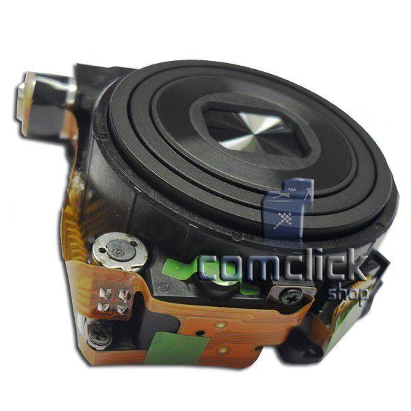 Bloco Ótico Preto para Câmera Digital Samsung ES28, ES68, ES74, ES75, ES78, PL20, PL21