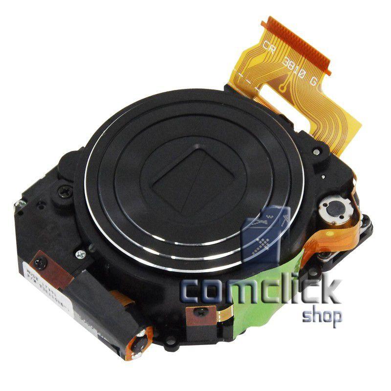 Bloco Ótico Preto para Câmera Digital Samsung ST500, ST510, ST550, TL220, TL225