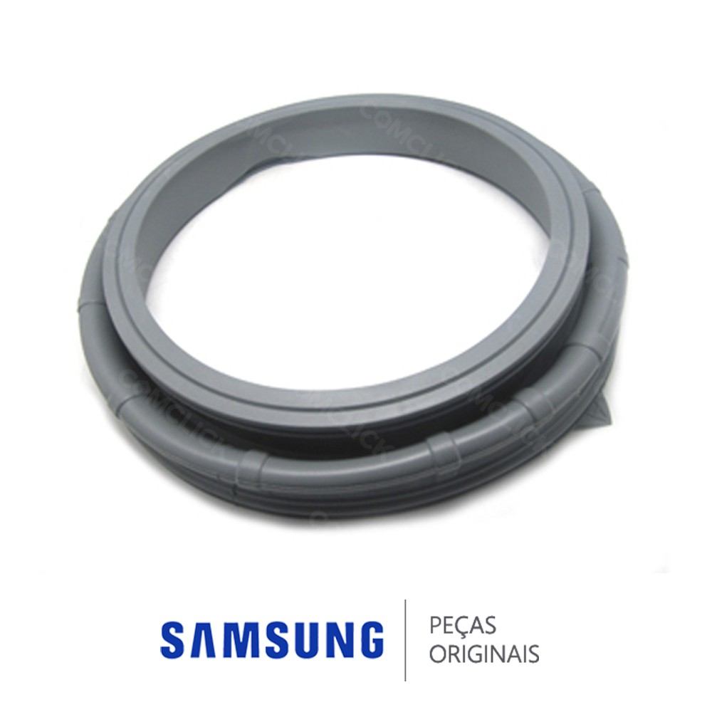 Borracha da Porta para Lavadora Samsung WF1124XBC, WF1124XBCF