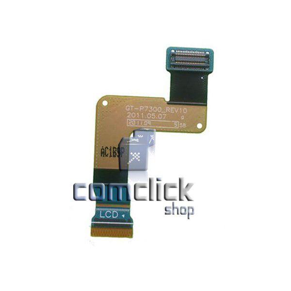 Cabo Flat Conexão PCI Principal com Display para Samsung Galaxy Tab. GT-P7300L