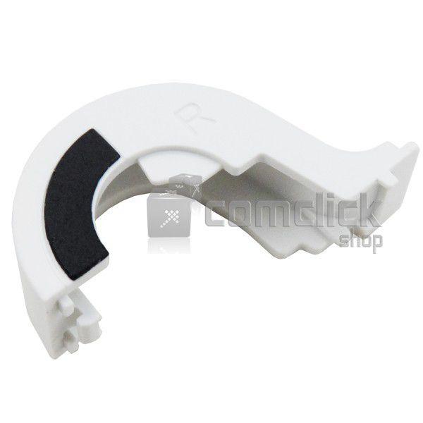 Capa da Dobradiça Direita Branca para Netbook Samsung NP-N150