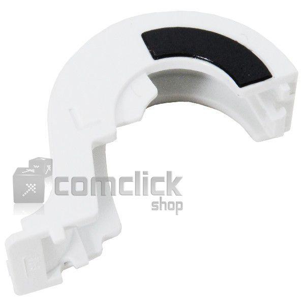 Capa da Dobradiça Esquerda Branca para Netbook Samsung NP-N150