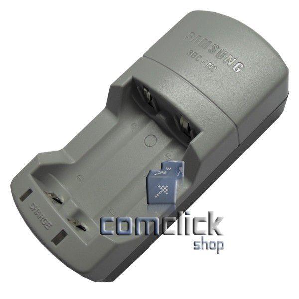 Carregador de Pilhas AA SBC-N1 1,5V 600 MA X 2 Samsung para 2 Pilhas Recarregáveis