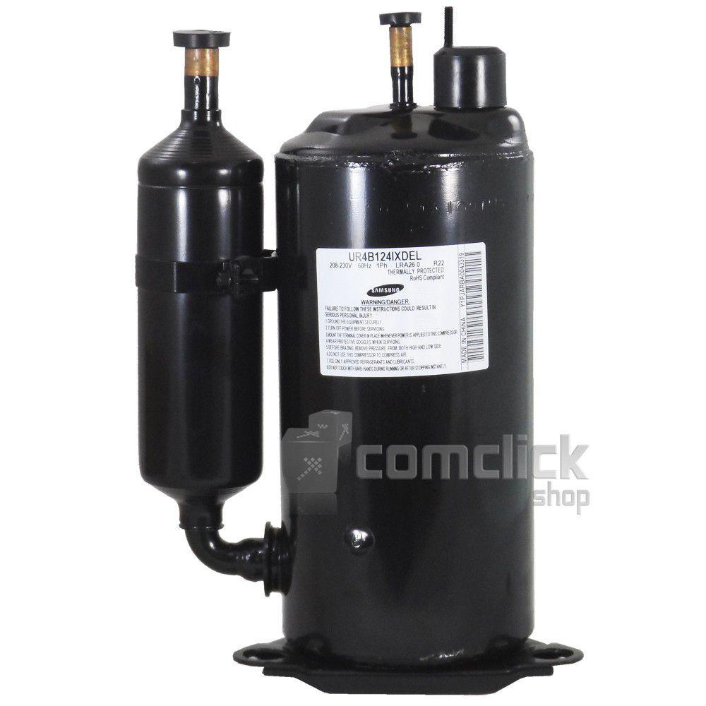 Compressor Rotativo R22 220v 1PH LRA26.0 para Ar Condicionado Samsung 12000 BTUS