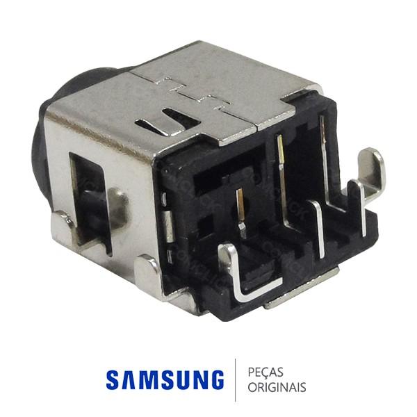 Conector do Carregador da Placa Mãe para Notebook Samsung NP300E4A, NP300E4C, NP300V4A, NP305E4A