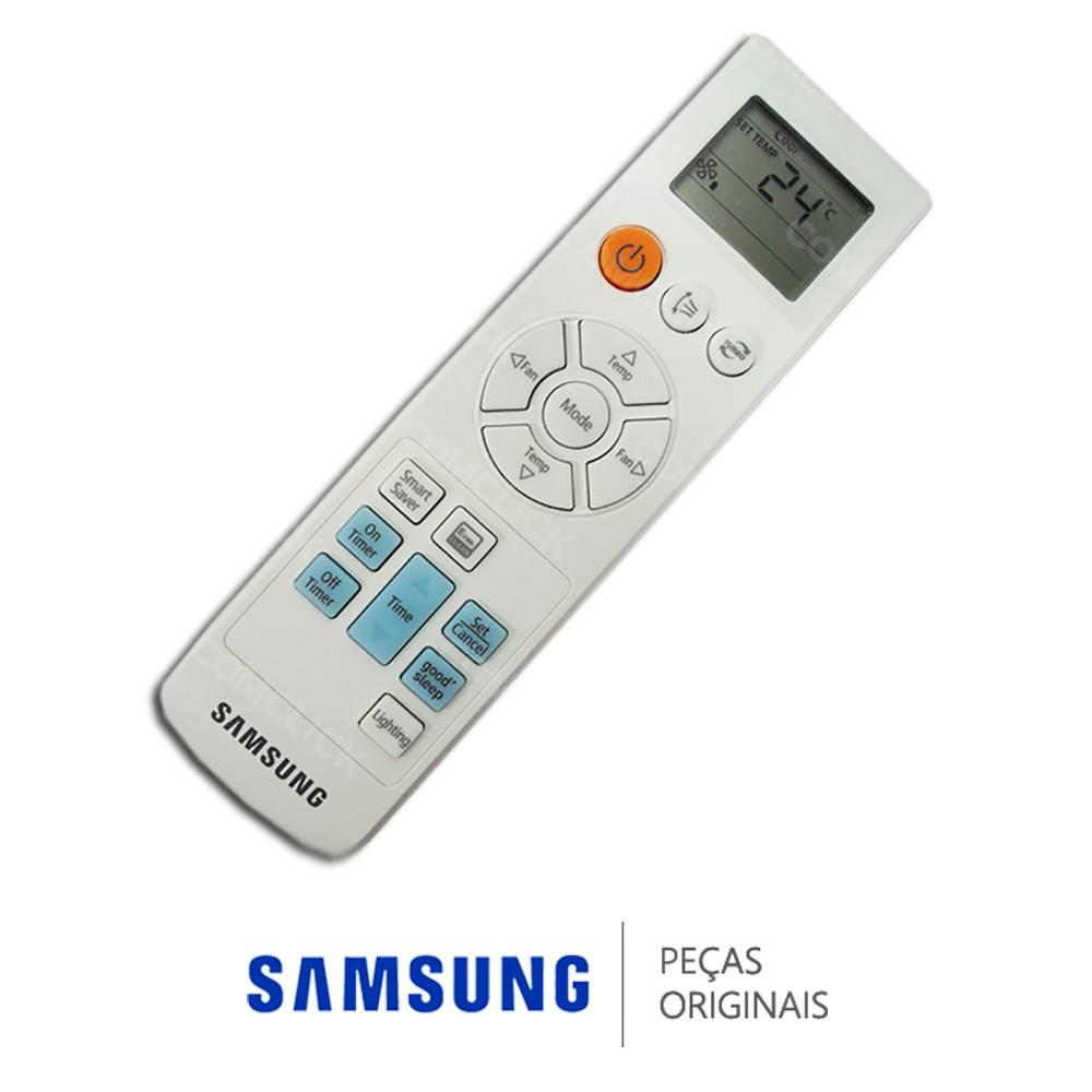 Controle Remoto para Ar Condicionado Samsung AS09ESBA, AS12ESBA, AS18ESBA, AS24ESBA