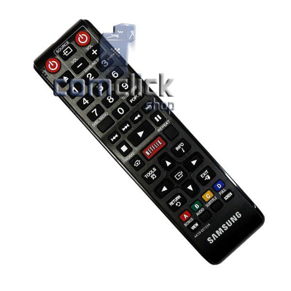 Controle Remoto para Blu-Ray Samsung BD-E5300, BD-E5500
