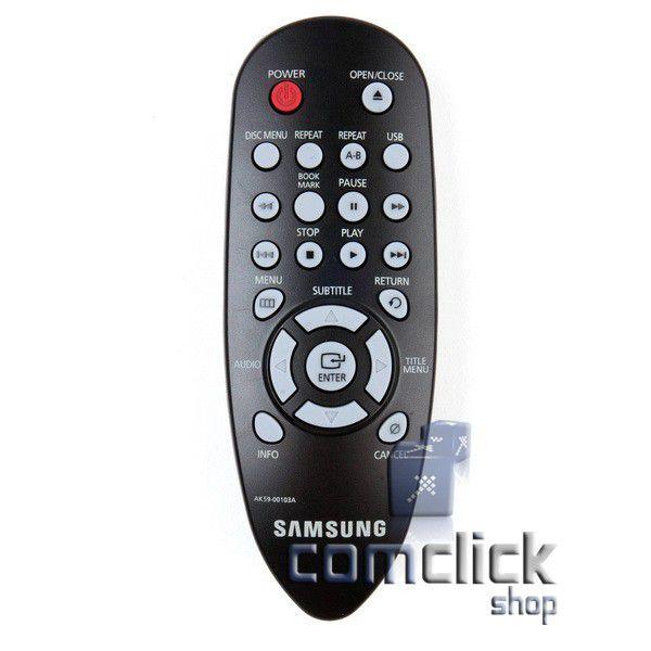 Controle Remoto para DVD Samsung DVD-H1080R