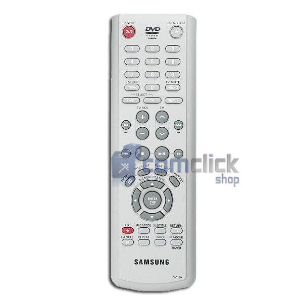 Controle Remoto para DVD Samsung R121
