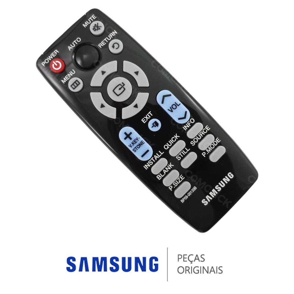 Controle Remoto para Projetor Samsung SP-M200S, SP-M220, SP-M250, SP-M300
