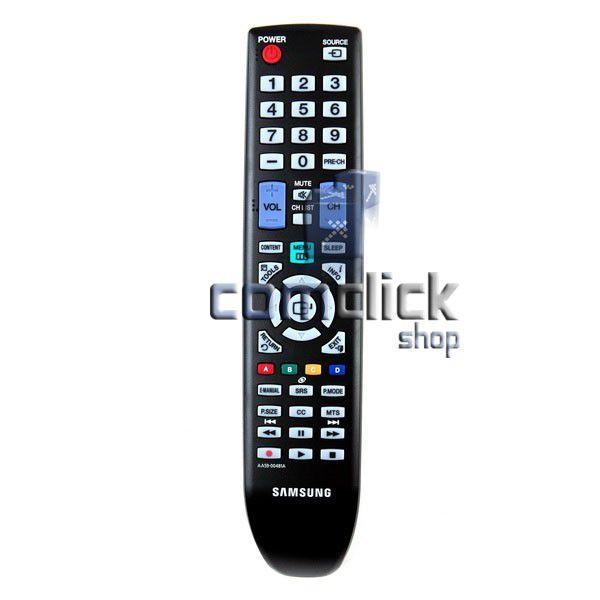Controle Remoto para TV Samsung LCD D400, D450, D550, PLASMA D450, D451