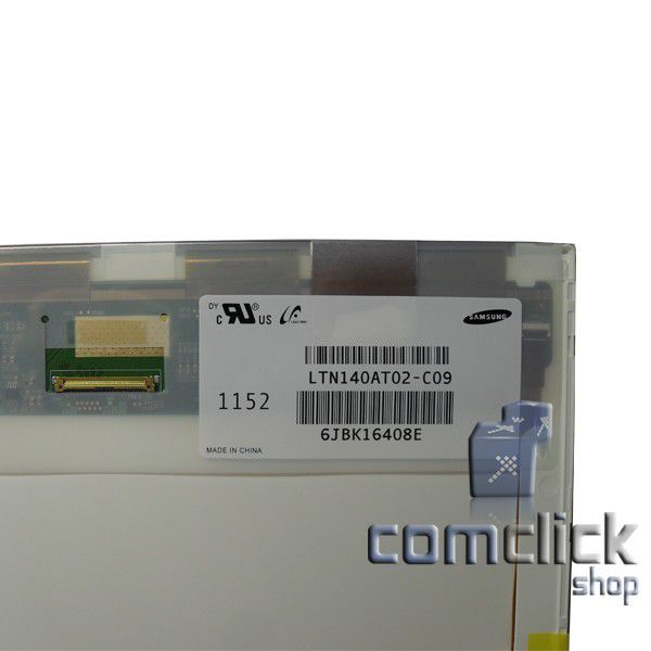 Display LED para Notebook Samsung NP-RV410, NP-RV411, NP-RV415, NP-RV420, NP-R430, NP-R440, NP-R480