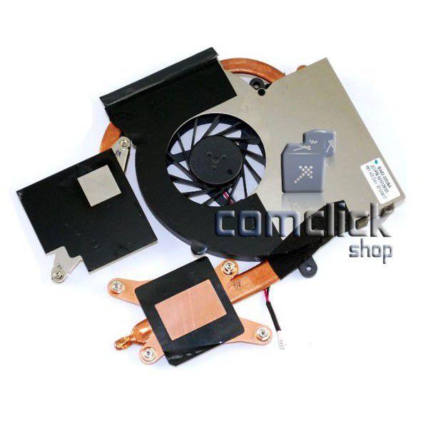 Dissipador de Calor para Placa Mãe com Cooler para Notebook Samsung NP-RF511