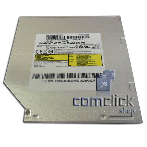 Drive Leitor de Blu-Ray SN-406AB para Notebook Samsung Diversos Modelos