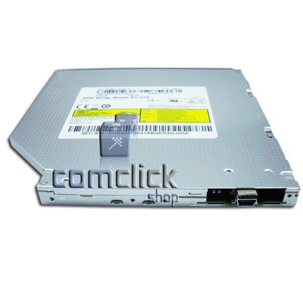 Drive Leitor / Gravador de CD e DVD SU-208BU Super Slim para ODD Externo Samsung AA-ES3P95M, AA-ES3P95B