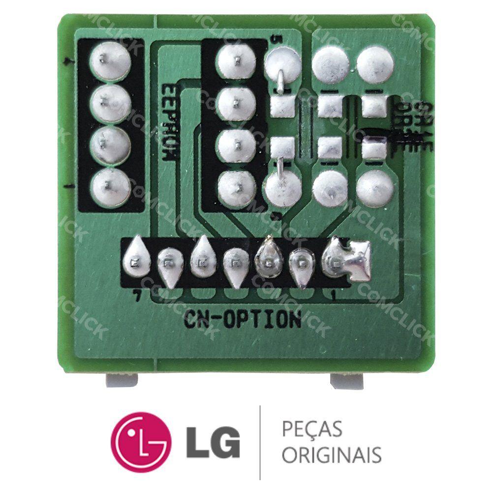 EEPROM da Evaporadora EBR74329205 Ar Condicionado LG ASNQ092WSA0, ASNQ092W4A0