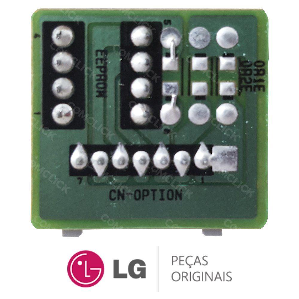 EEPROM da Evaporadora EBR78341603 Ar Condicionado LG ASNQ182CSA1, ASNQ182CRW0, ASNQ182CRW2