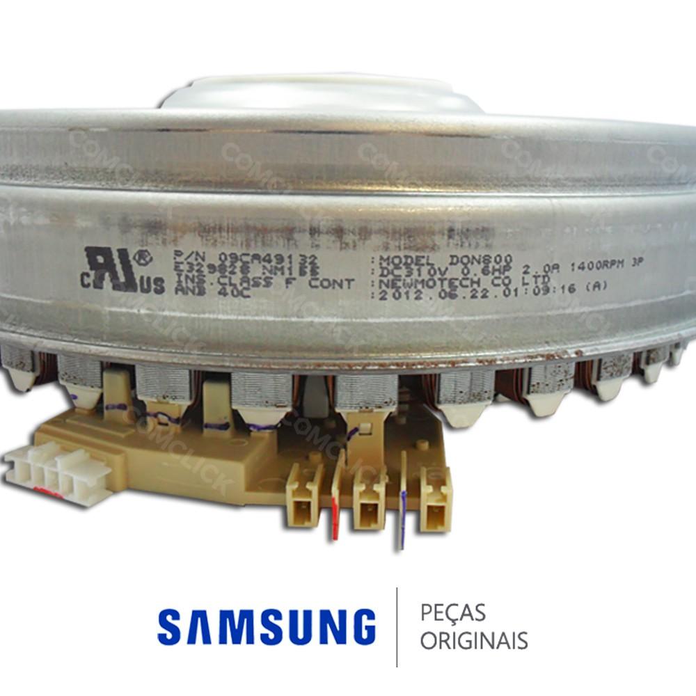 Estator do Motor DC96-01218E Lava e Seca Samsung WD856UHSAWQ, WD8854RJZF, WF8854LJF, WD0854W8EF1