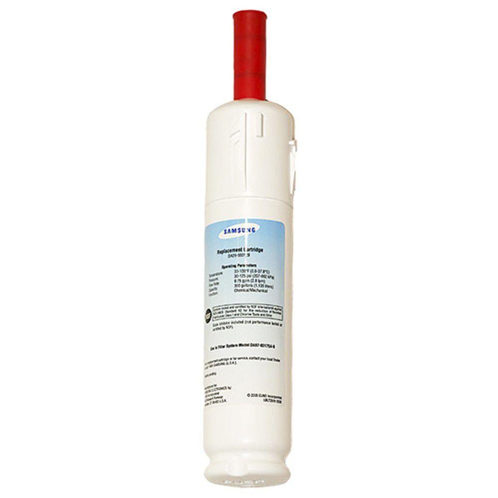 Filtro de Água Aqua Pure Plus para Refrigerador Side By Side Samsung DA29-00012B