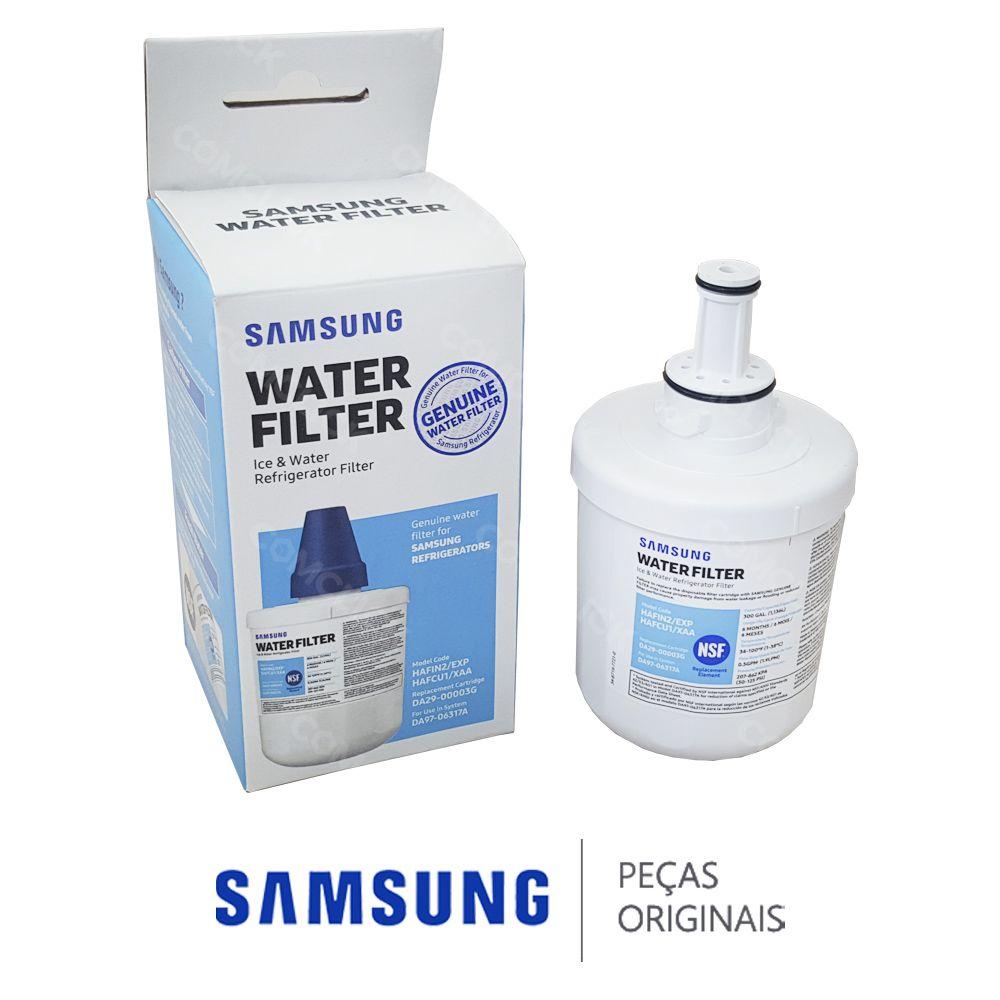 Filtro de Água HAFIN2/EXP DA29-00003B AQUA PURE PLUS Refrigerador Samsung Side by Side