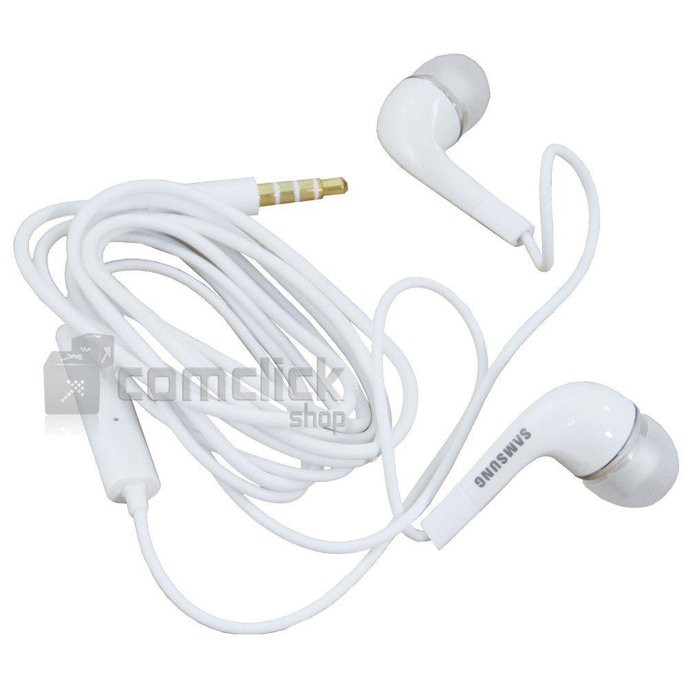 Fone de Ouvido EHS64AVFWE Estéreo Intra Auricular 3,5mm Celular e Tablet Samsung GT-I9300, GT-N7000