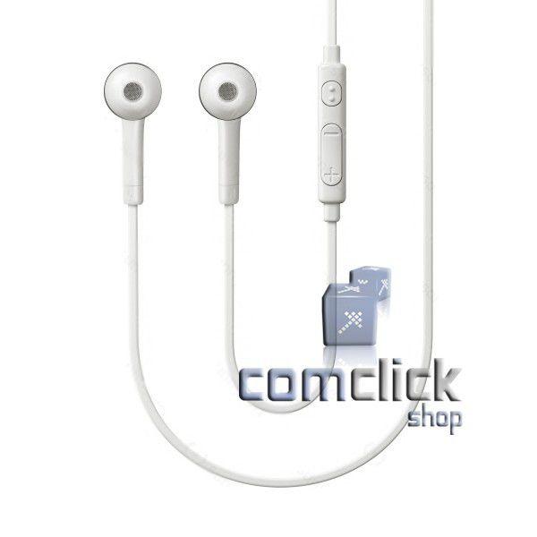 Fone de Ouvido EO-HS3303WE Branco Intra Auricular 3,5mm Celular Samsung GT-I9500, GT-I9505 GALAXY S4
