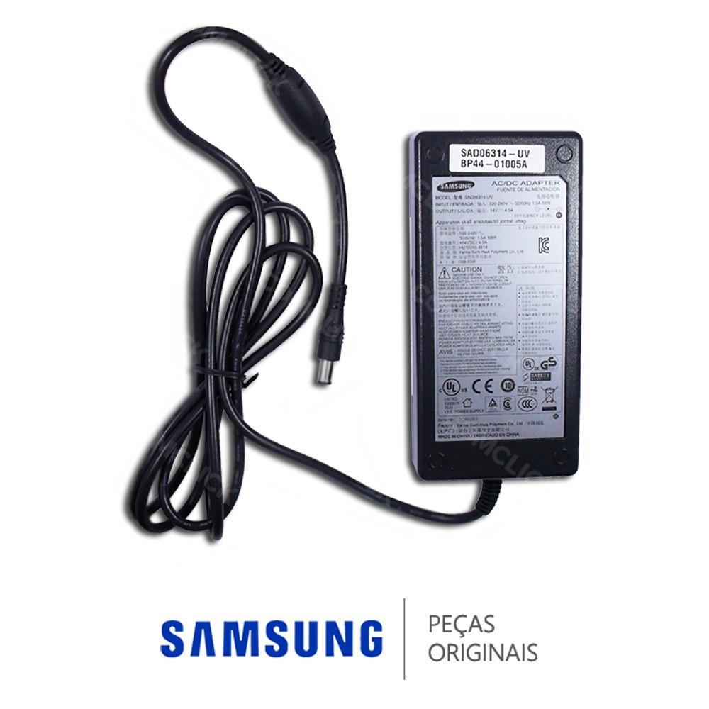 Fonte Externa de Energia SAD06314V-UV 14,4V 5A 68W (Adaptador) para Monitor e Projetor Samsung