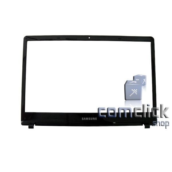 Gabinete Frontal Preto do Display para Notebook Samsung NP300E4A, NP305E4A