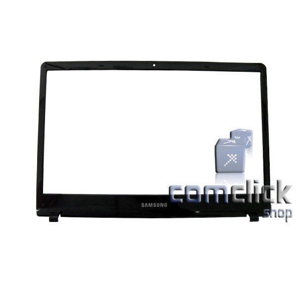Gabinete Frontal Preto do Display para Notebook Samsung NP300E4C