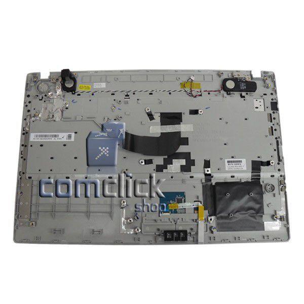 Gabinete Superior com Teclado e Touchpad para Notebook Samsung NP-RV511