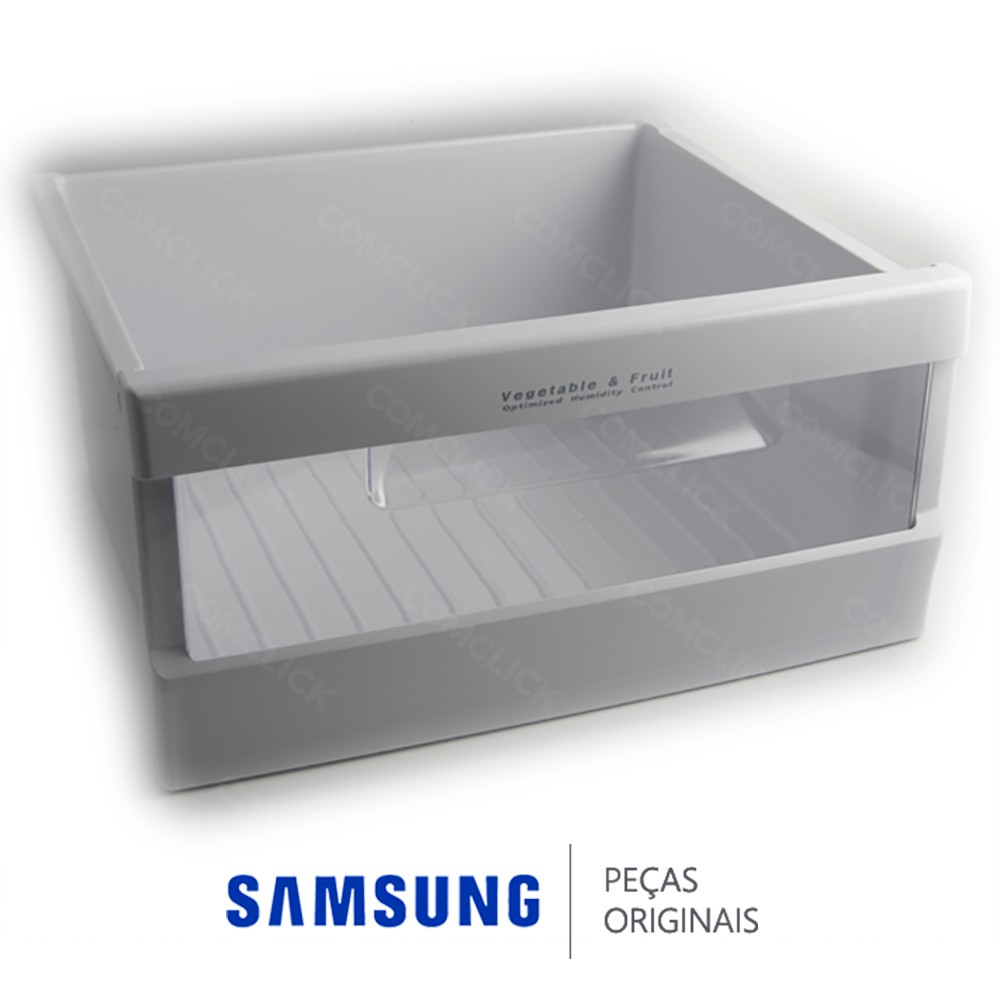 Gaveta de Frutas / Vegetais para Refrigerador Samsung RS27KASW1, RS27KGRS1, RS27KLBG1, RS27KLMR1