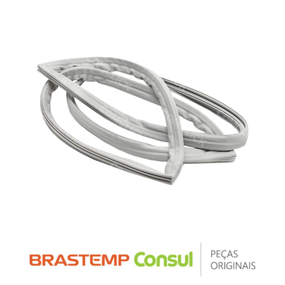 Gaxeta / Borracha da Porta do Refrigerador 326029920 / 326029907 Brastemp Consul BRM43 Original